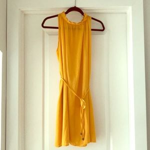 Dresses & Skirts - NWOT Adorable Yellow Sleeveless Dress